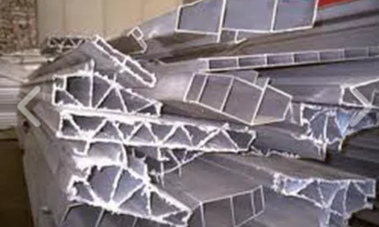 aluminio en perfil